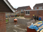 Garden Construction Project - Work commences!