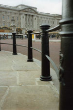 Railings / Ballustrade re-stored at Buckingham Palace by Sim-FIX